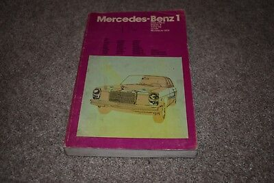 Mercedes repair manual 190 200 190 Dc D C 230 b Sb 250 SL 280 300 SE SEL SEb 6.3