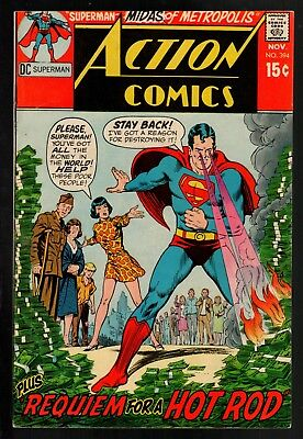Action Comics #394 FN/VF 7.0 DC Silver Age 1970!!!