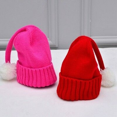 Baby Kids Knitted Hat Festive Christmas Hat Winter Hats Newborn Lovely Beanie