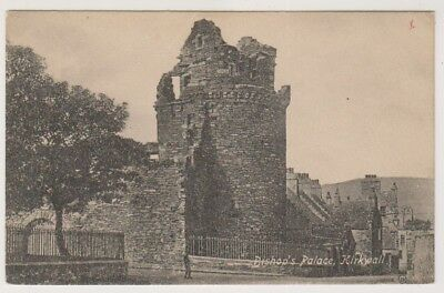 Orkney postcard - Bishop's Palace, Kirkwall (A802)