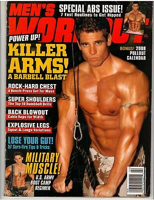 MEN'S WORKOUT BODYBUILDING muscle fitness exercise/T J  TOBAN 2-02 w