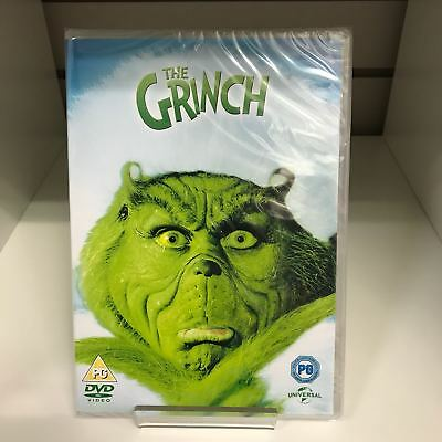 The Grinch DVD - New and Sealed Fast and Free Delivery