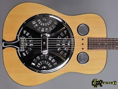 1990´s Epiphone Bisquit Round neck Resonator Guitar - Natural Spruce