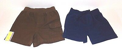Lot of 2 Pairs Circo Boys Summer Shorts Size 6 Month, NEW