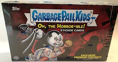 GPK Topps 2018 Garbage Pail Kids OH, THE HORROR-IBLE Hobby COLLECTOR EDITION BOX