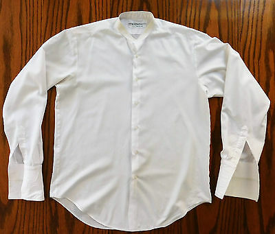 Boys tunic shirt Vintage public school uniform Billings Edmonds Eton 15 c 1980s