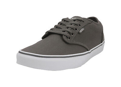 b7a6b435373 Vans Men Women Unisex Shoes Atwood Canvas Pewter Gray White Skateboard  Padded