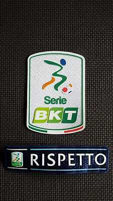 2018-2019 Toppa Patch Serie B Bkt Lnpb + Rispetto Official Italy Badge Respect
