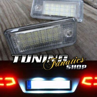 Para Audi A3 8P A4 8E A6 4F Q7 2x Luces de Matrícula Led Luces Kit Canbus