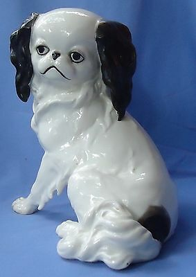 "1950s JAPANESE CHIN PEKINGESE GERMANY 10"" DOG"
