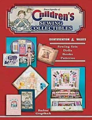 Childrens Sewing Collectibles Book Sewing Set Doll Toy
