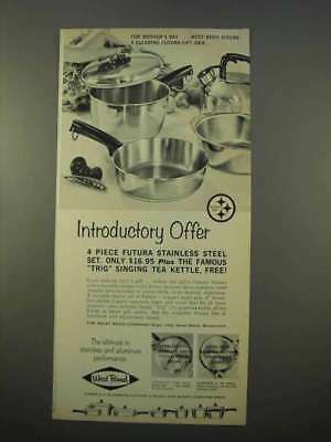 1963 West Bend Futura Cookware Ad - Introductory