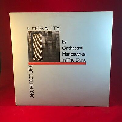 ORCHESTRAL MANOEUVRES IN THE DARK Architecture & Morality 1981 UK Vinyl LP OMD