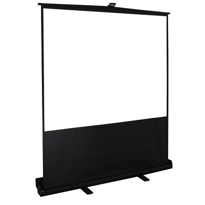"""100"""" 4:3 HD Projector Screen Portable Pull Up Floor Projector Projection Screen"""