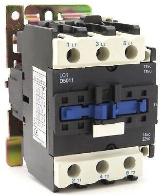 CN-LC1D5011 Contactor Replacement fits Telemecanique 3 Phase 3 Pole 120V Coil