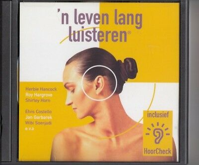 N' LEVEN LANG LUISTEREN RARE PROMO CD Elvis Costello Herbie Hancock Mark Hollis