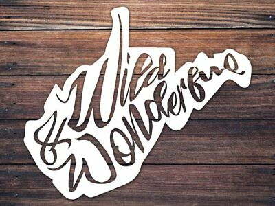 West Virginia Car Window Decal - Wild And Wonderful Decal - WV Home Roots