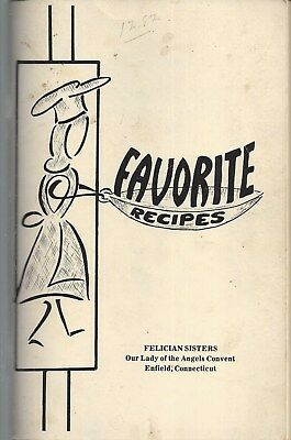 Enfield Ct Vintage Felician Sisters * Ethnic Polish Cook Book * Favorite Recipes