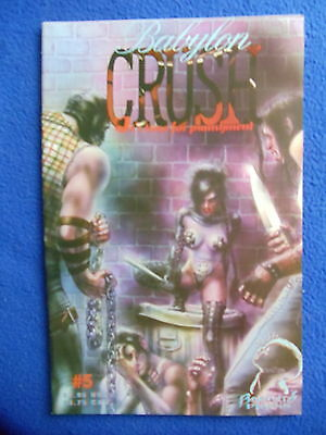 ~~ Babylon Crush #5~ It's Time For Punishment~ Boneyard Press ~ Hard To Find! ~~