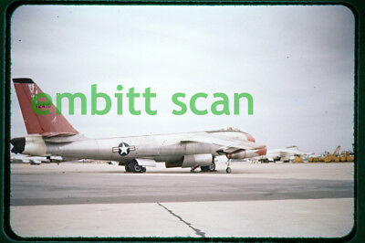Original Slide, USAF Boeing B-47E Stratojet at Eglin AFB, c. 1957