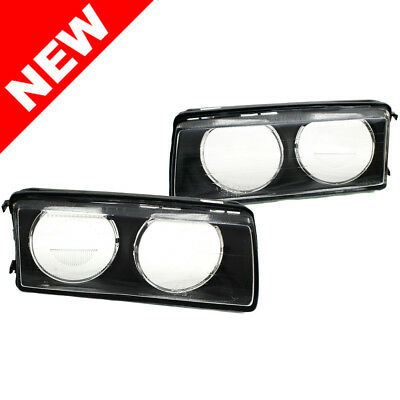 92-99 Bmw E36 3-Series Zkw Style Replacement Glass Lens Set - Left / Right Pair