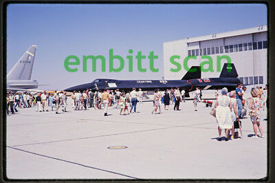Original Slide, USAF Lockheed YF-12A at Edwards AFB, 1969