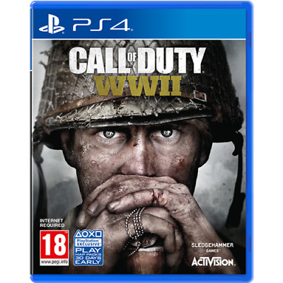 Call of Duty WWII PS4 Playstation 4 Brand New Sealed