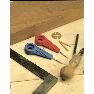 Linic Bradawl, Red & Blue Point Or Chisel