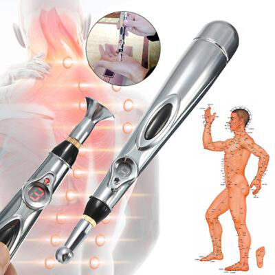 Acupuncture Laser Electric Meridian Pen Magnet Therapy Electronic Energy Massage