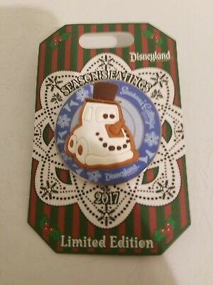 Season's Eatings 2017 Disneyland Trading Pin Snowy Pixar Cars DLR 3000 Snow Car