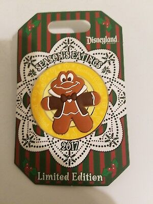 Season's Eatings 2017 Limited Edition Disneyland Trading Pin Mr. Toad DLR 3000