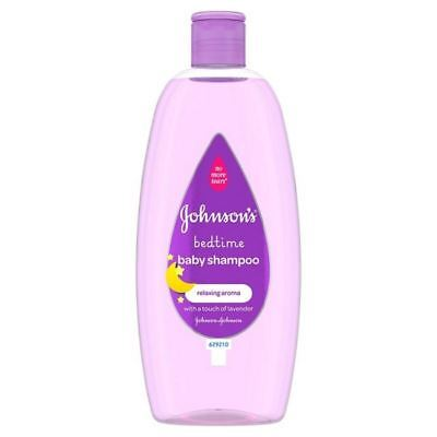 2x Johnson's Baby Bedtime Shampoo 500ml