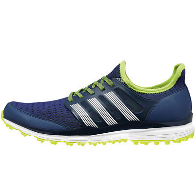 adidas Golf Mens Clima365 Climacool Mesh Golf Shoes - Marine/White - UK 7