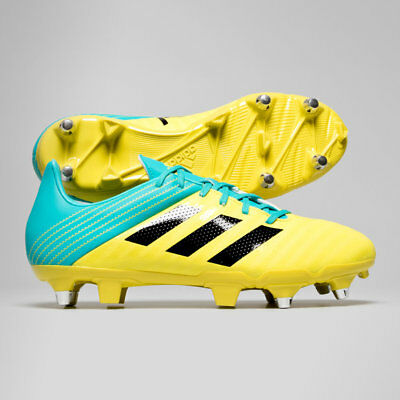adidas Malice SG Shock Yellow AC7738 Rugby Boots Size UK 7 - 13