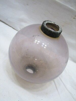 Amethyst K Kress Glass Lightning Rod Ball Sphere Globe Smooth Plain Weather Vane