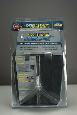 NEW Smart Tabs SX Automatic Performance Trim System 12-15ft Boats SX9510-30BL