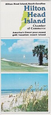 1960's Hilton Head Island South Carolina Promotional Brochure