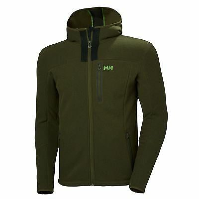 HH Helly Hansen Vanir Fleece Jacke  51788 forest night  Kapuzenjacke Midlayer