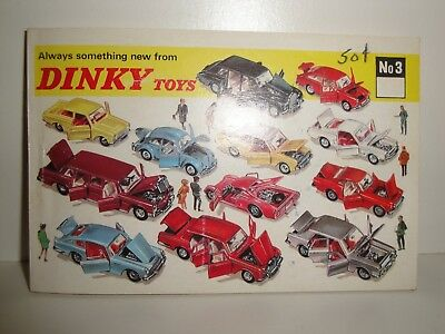 1966 Dinky Toys Catalogue-Canadian Edition With Price List