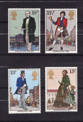 1979 GB, Sir Rowland Hill, NH Mint Set of Stamps, SG 1095-8