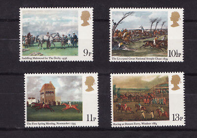 1979 GB, Horse Racing, NH Mint Set of Stamps, SG 1087-90