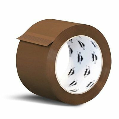 240 Rolls Brown Tan Acrylic Packing Tape Shipping 3-inch Wide 1.8 Mil 55 yards