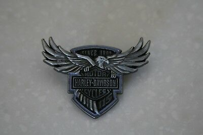 Harley Davidson 115Th Anniversary Pin Vest Pewter Motorcycle Biker Jacket New