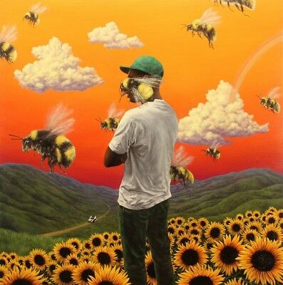 Flower Boy [PA] by Tyler, The Creator (CD, Jul-2017, Columbia (USA)) NEW
