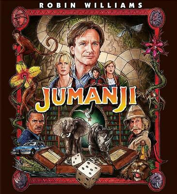 Jumanji (4K Ultra HD Blu-ray, 2017, 2-Disc Set, Digital) NEW