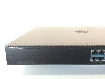 DELL NETWORKING N3024 24 Port Gigabit Ethernet Switch Layer 3 2x 10G