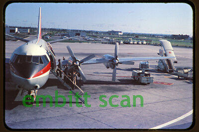 Original Slide, Air Canada Vickers Vanguard, 1965