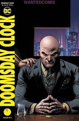 Doomsday Clock #2 (Of 12) Variant Cover Watchmen Gary Frank Dc Comic Book New 1