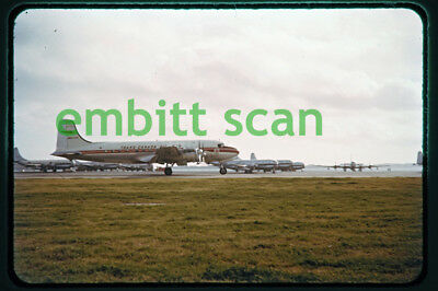 Original Slide, TCA Trans-Canada Air Lines Canadair DC-4M-2 North Star (CF-TFS)