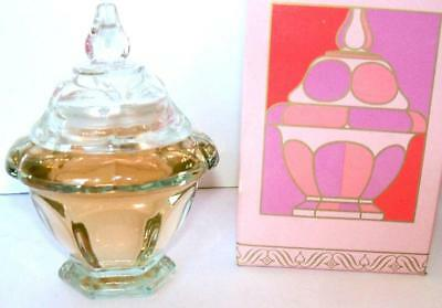 Avon CASTLEFORD COLLECTION Apple Blossom Cologne Gelee 4 oz 1974 full NOS NIB
